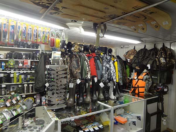 организовать рыболовный магазин