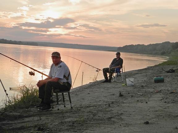 ловля рыбы на закидную сеть