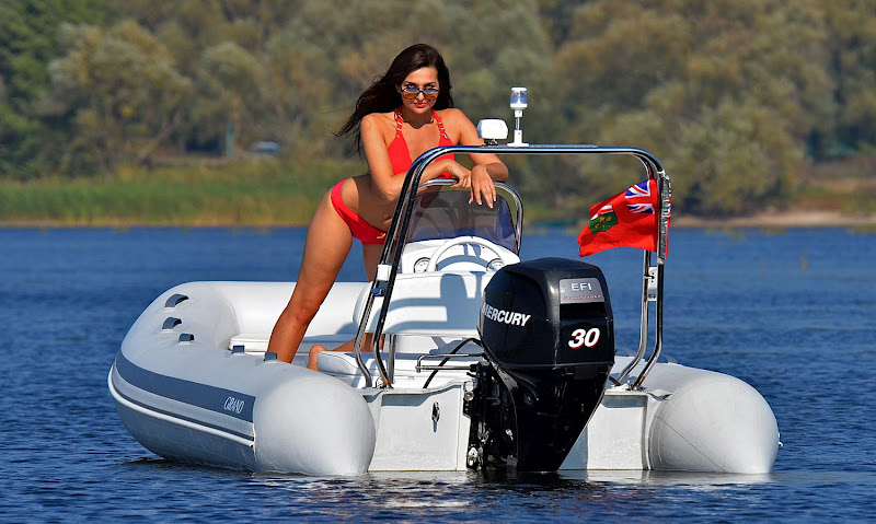 с каким двигателем нужны права на моторную лодку
