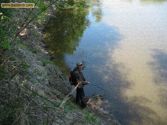 в какой реке ловил рыбу мальчик